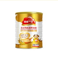 铂金一优五谷有机营养米粉