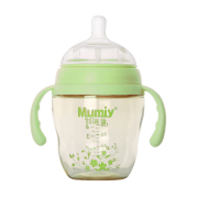 妈咪雅有柄自动广口PPSU奶瓶(200ml)