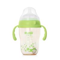 妈咪雅有柄自动广口PPSU奶瓶(300ml)