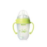 妈咪雅广口有柄自动经典仿乳硅胶奶瓶(250ml)
