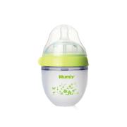妈咪雅广口经典仿乳自动硅胶奶瓶(150ml)