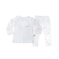 一护点点熊印花长袖开胸套(白色)-66