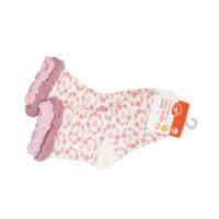 一护小碎花儿童袜1双装肉色(1-3岁)