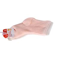 一护双针纯色婴童袜3双装(3-5Y)