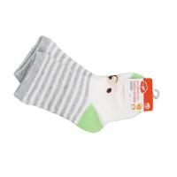 一护条纹小熊儿童袜3双装(1-3Y)