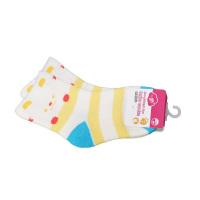 一护笑脸保暖儿童袜藏黄色(3-5岁)