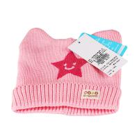 一护五星笑脸耳朵帽(粉色)