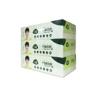 一朵竹够本色100抽盒抽纸(三连盒)