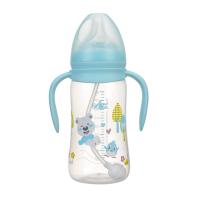 日康宽口有柄自动奶瓶(300ml)