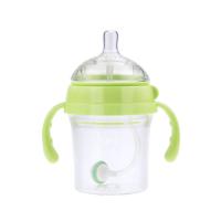 妈咪雅有柄自动广口Tritan奶瓶(200ml)